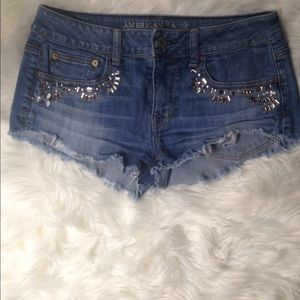 American Eagle Outfitters Shorts Denim Jeans Sz 6.